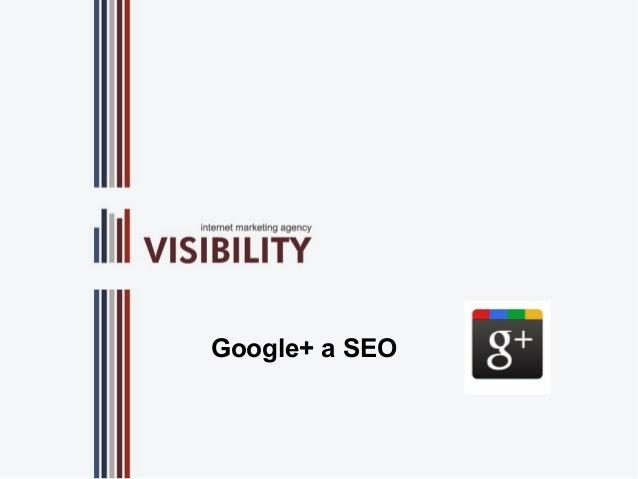 Google+ a SEO