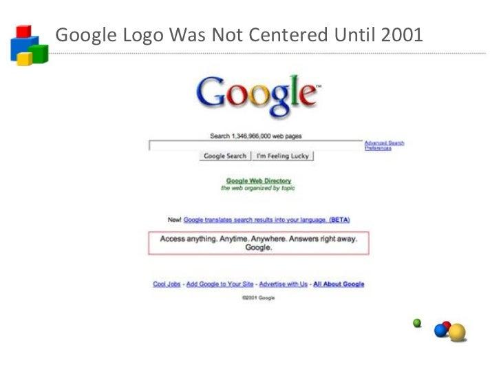Google Logo 2001