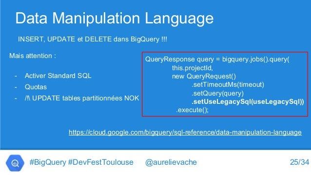 Dans les coulisses de Google BigQuery - DevFest Toulouse 2016