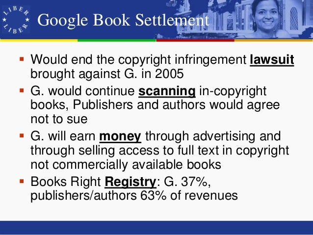the google book settlement Gmail is email that's intuitive, efficient, and useful 15 gb of storage, less spam, and mobile access.