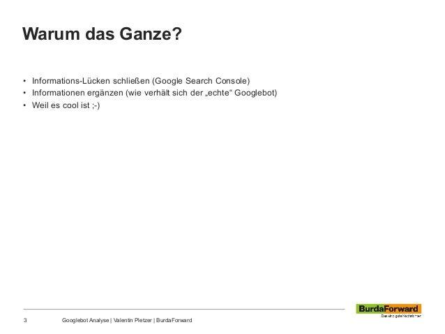 Googlebot Analyse mit Elasticsearch Slide 3