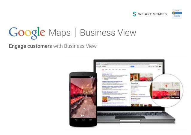 S WE ARE SPACES  33 973 l/ laps I Business View  'J Engage customers with Business View