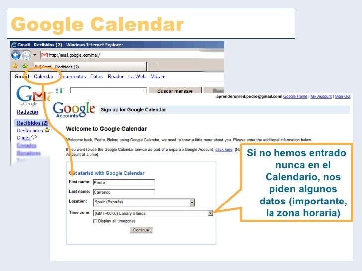 Google calendar Slide 2