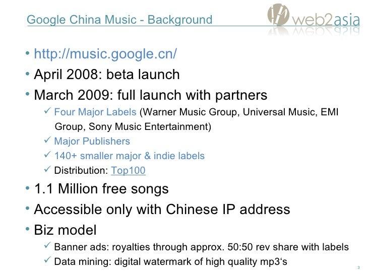 Google China Music Explained Slide 3