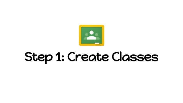 Step 1: Create Classes