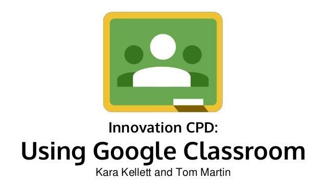 Innovative Google Classroom ~ Google classroom optional cpd