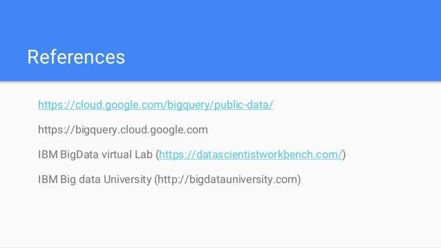 Big Data with hadoop, Spark and BigQuery (Google cloud next