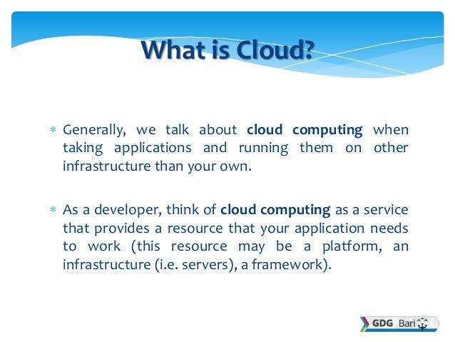 Google Cloud Platform  Slide 2