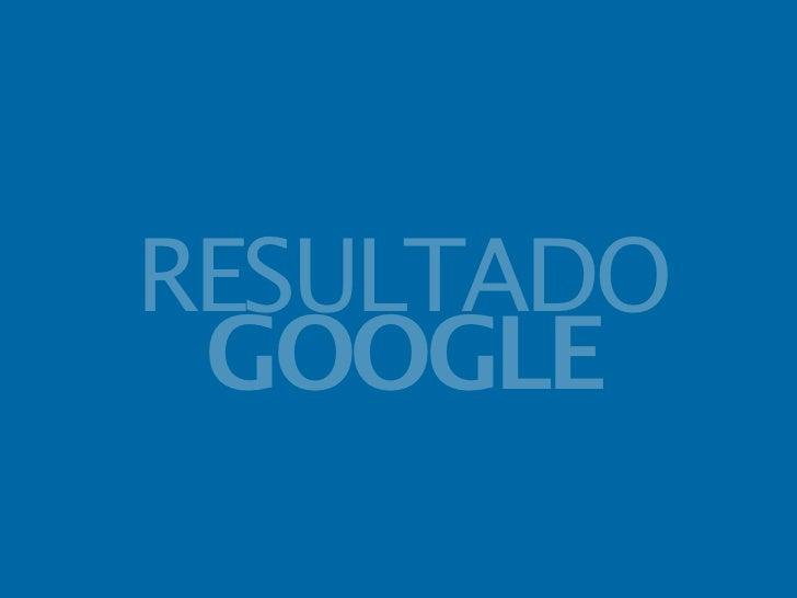 RESULTADO GOOGLE
