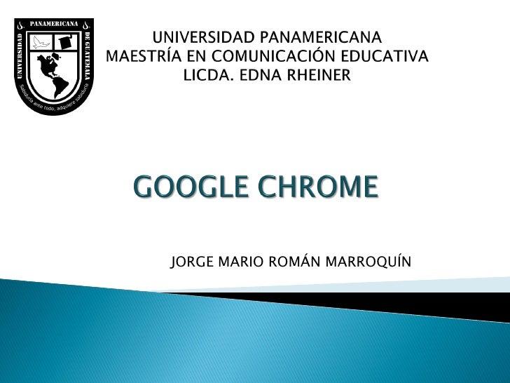JORGE MARIO ROMÁN MARROQUÍN