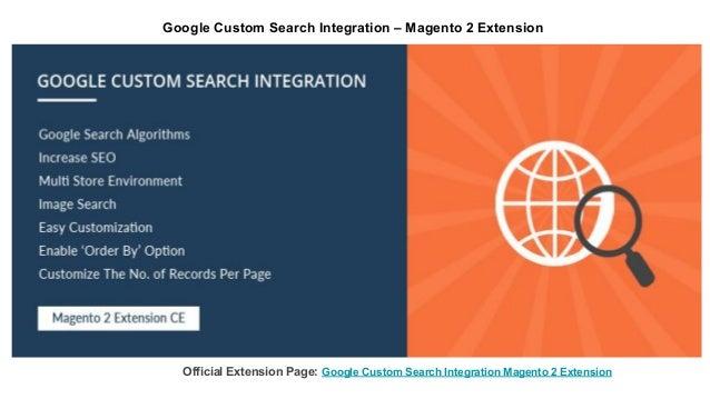 Google Custom Search Integration – Magento 2 Extension