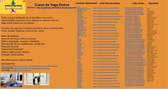 Curso de Yoga Online Web Oficial: https://yogaouioga.com.br/hatha/curso-de-yoga-online/ Tenho a grata satisfação de compar...