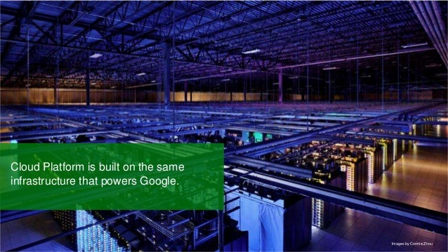 Google confidential   Do not distribute Cloud Platform is built on the same infrastructure that powers Google. Images by C...