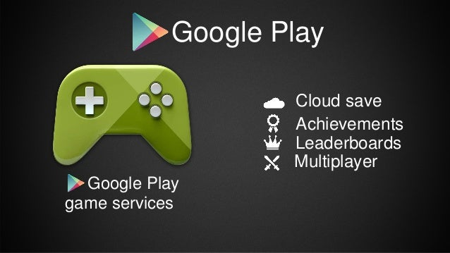 Google Play game services Cloud save Achievements Leaderboards Multiplayer Google Play