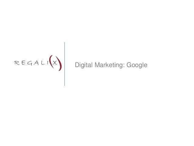 Digital Marketing: Google