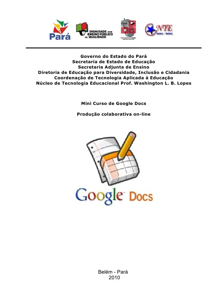 Governo do Estado do Pará                Secretaria de Estado de Educação                  Secretaria Adjunta de Ensino  D...
