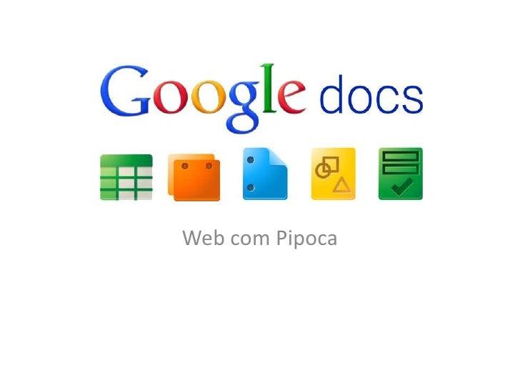 Web com Pipoca