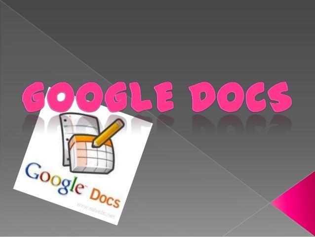 Es un programa gratuito basado en Web paracrear documentos en línea con la posibilidadde colaborar en grupo. Incluye un Pr...