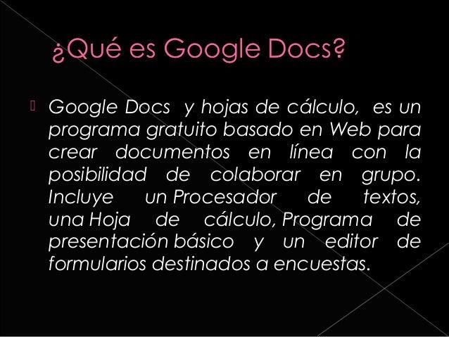  Crea documentos hojas de cálculo y presentaciones online  Utilizar gráficos de hojas de cálculo de Google Docs en los d...