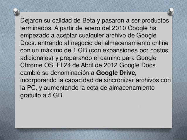 Google docs  Slide 3