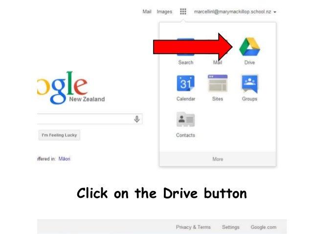 Login to Google Drive