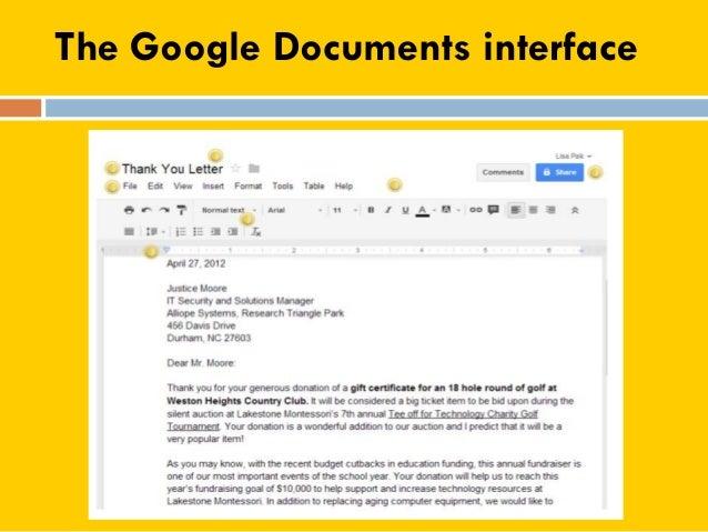 Google Docs Tutorial - Google documents