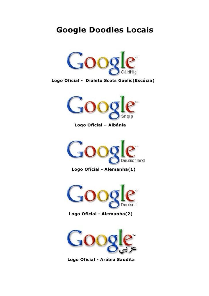 Google Doodles Locais