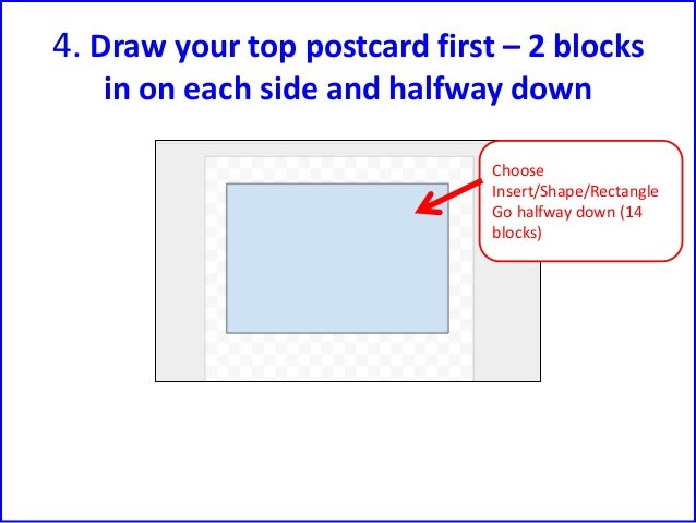 Make A Postcard Using Google Draw By Fiona Beal - Create a postcard template