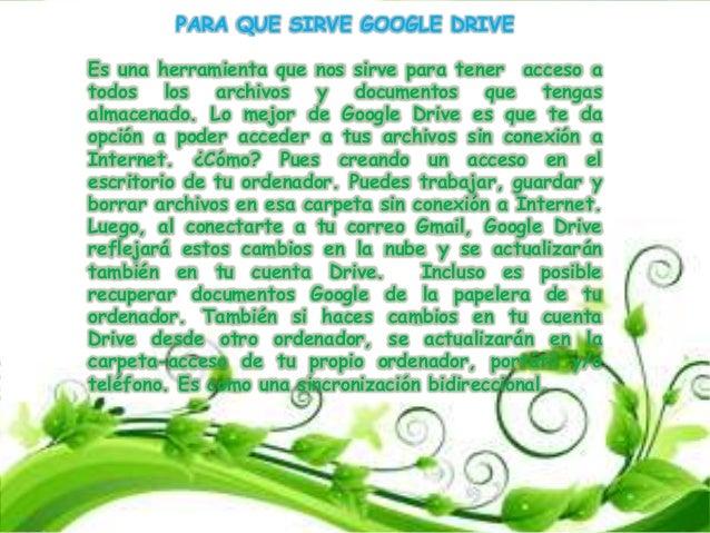 Google Drive Slide 3