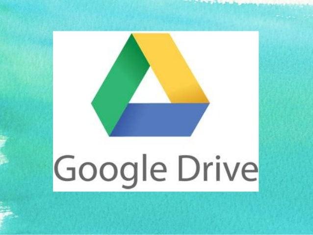 ¿Qué es Google Drive?  • Es un producto totalmente nuevo que permitirá a los usuarios almacenar de forma centralizada todo...