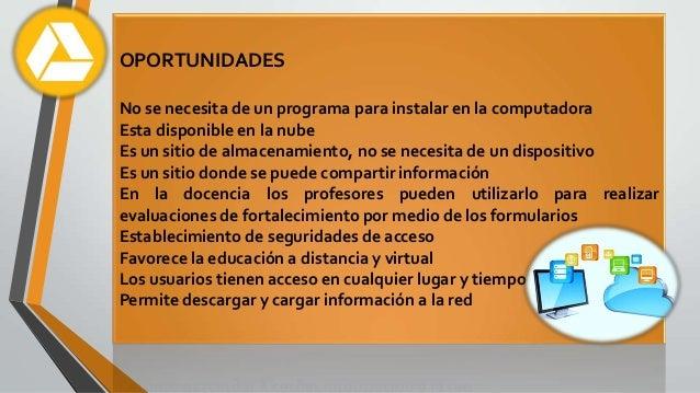 ANÁLISIS CRÍTICO DEL GOOGLE DRIVE Slide 2