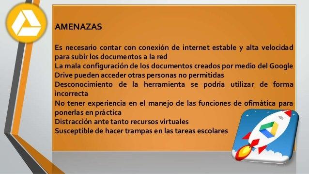 ANÁLISIS CRÍTICO DEL GOOGLE DRIVE Slide 3