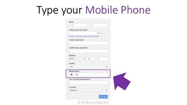 Type your Mobile Phone © 2016 jmumali.com