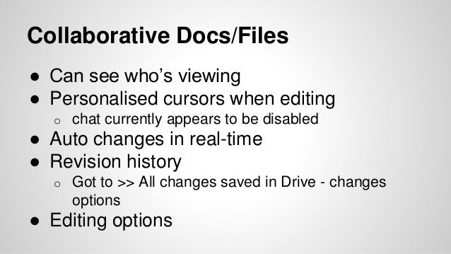 how to see editing history on google docs