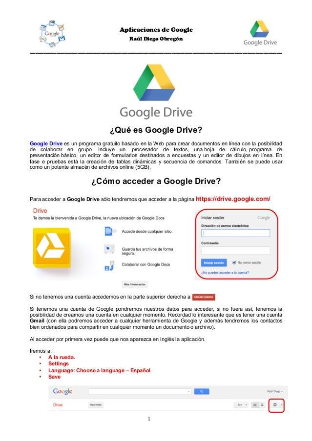 Google Drive 2017