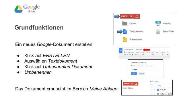 Google Drive Ablage
