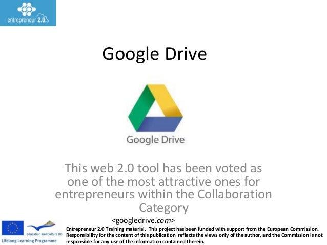 Google drive presentation