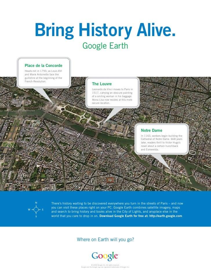 Bring History Alive.                                               Google Earth  Place de la Concorde Heads roll in 1793, ...