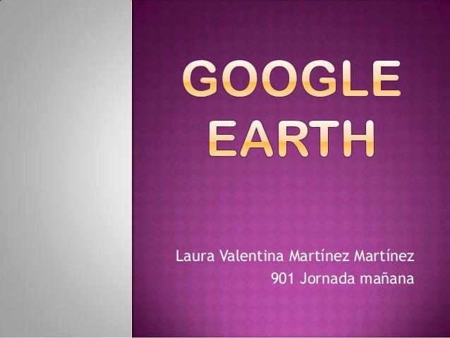Laura Valentina Martínez Martínez 901 Jornada mañana