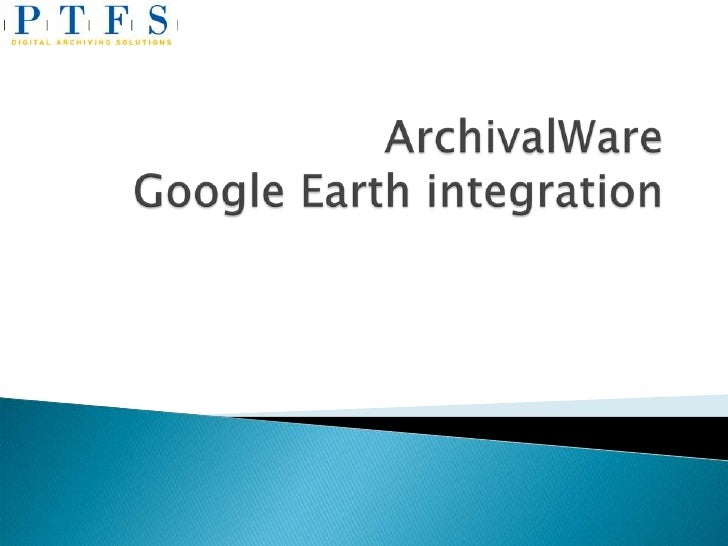 Records created in ArchivalWare with longitude and      latitude in metadata     Search ArchivalWare and then view the ob...