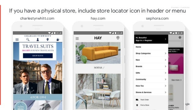 Google eCommerce UX Playbook for Retail
