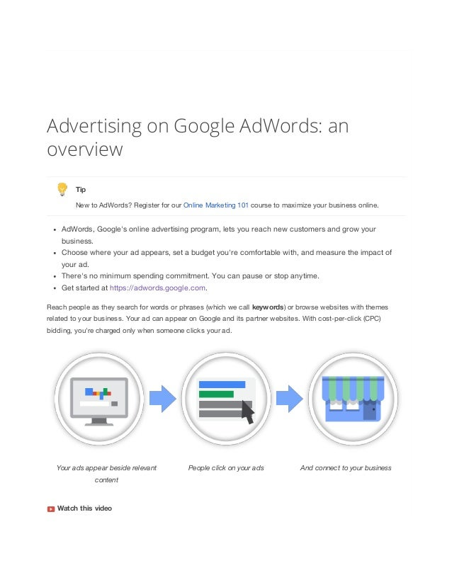 The Google AdWords Certification Exam Study Guide