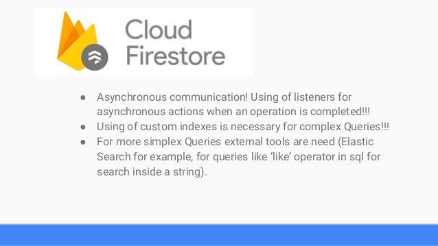 Google Firebase presentation - English