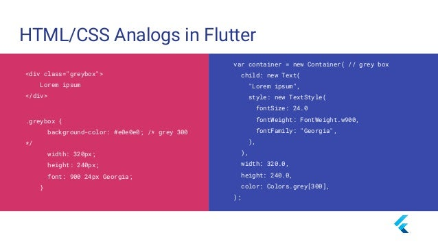What makes Flutter unique? - Compiles to Native Code (ARM Binary code) - No reliance on OEM widgets - No bridge needed - N...