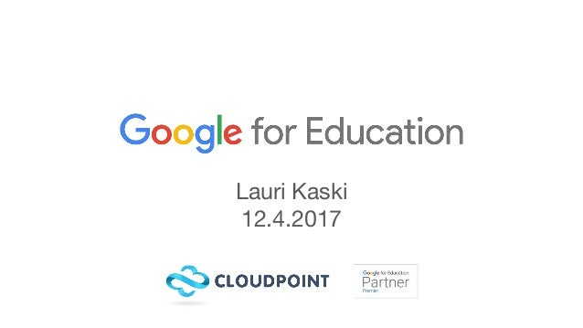 Lauri Kaski 12.4.2017