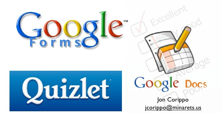 Google Forms And Quizlet