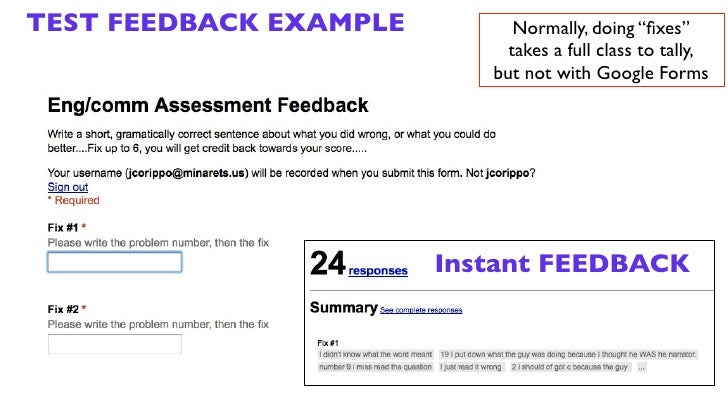 Google forms and Quizlet - CETPA Update