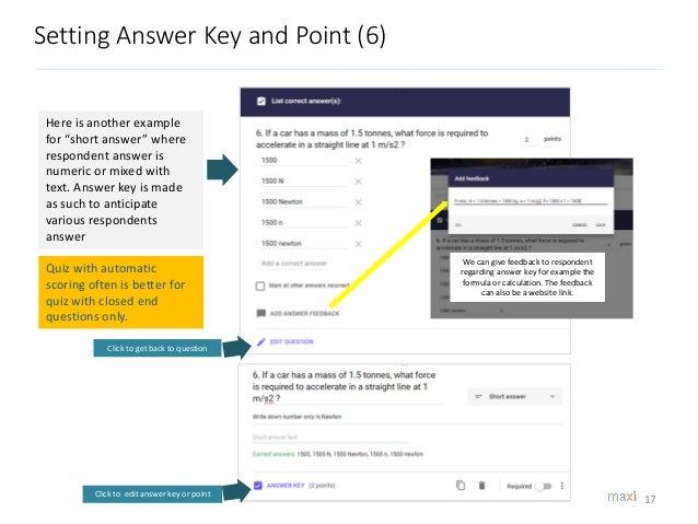 Google Forms Quiz Tutorial 2018 - Find Updated 2020 ...