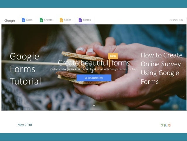 May 2018 How to Create Online Survey Using Google Forms Google Forms Tutorial