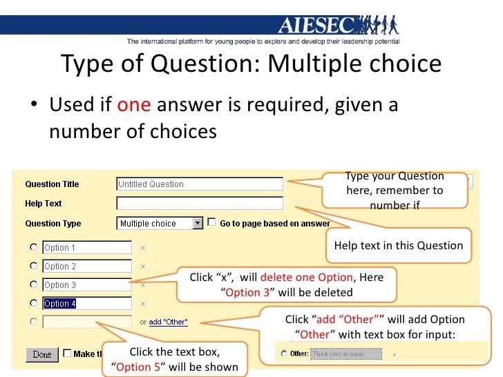 Google form tutorial